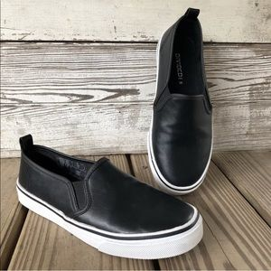 H&M Faux Leather Slip On Casual Shoes Sneakers